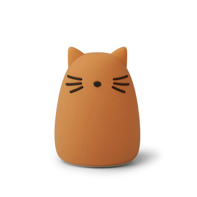 Veilleuse animal-Veilleuses-Liewood-chat moutarde-mombini.shop