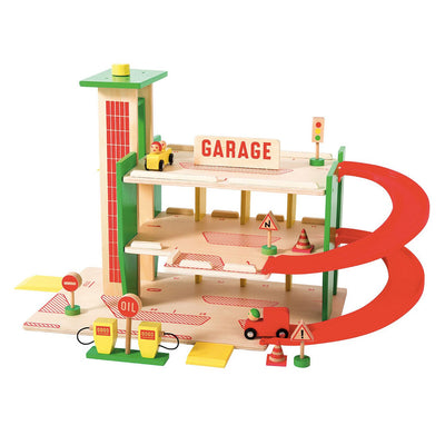 Grand garage dans la ville-Jouets-Moulin Roty-mombini.shop