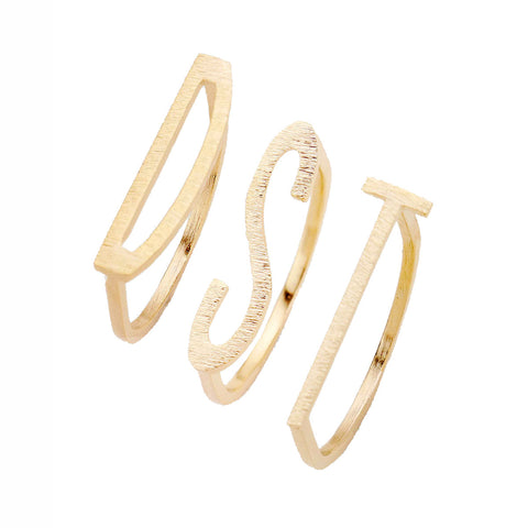 DST | D-S-T Ring Trio