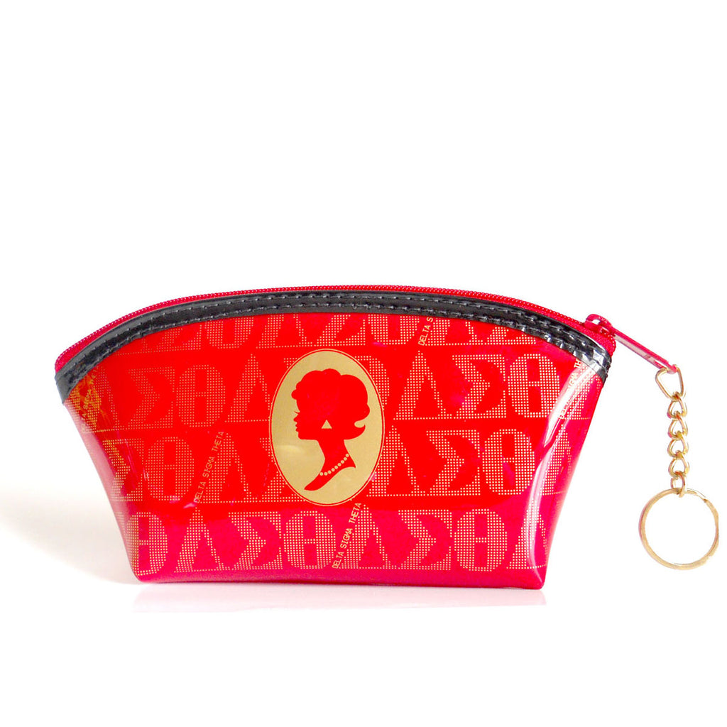 POS Cameo Crescent Cosmetic Bag DELTA RED