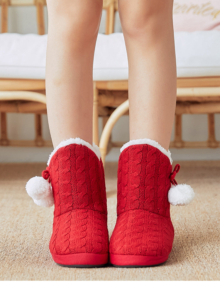 Santa Boots Home Slippers