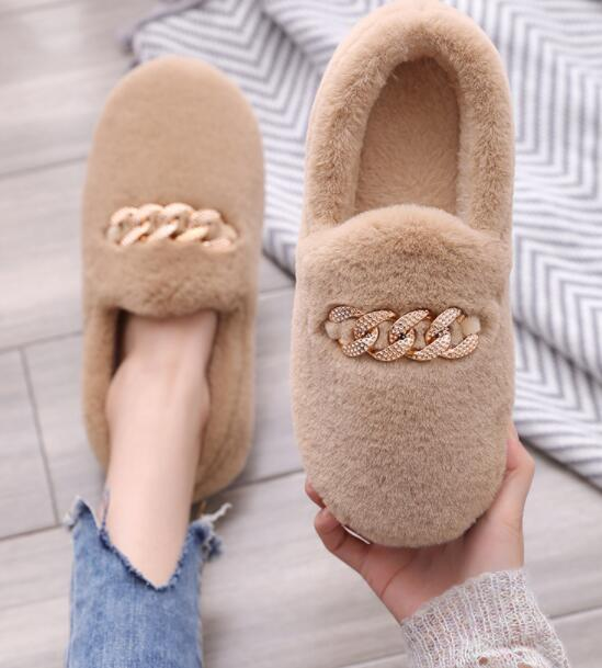 HERA HOME FLUFFY MOCCASINS