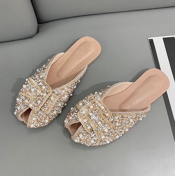 Cinderella Shoes Beige
