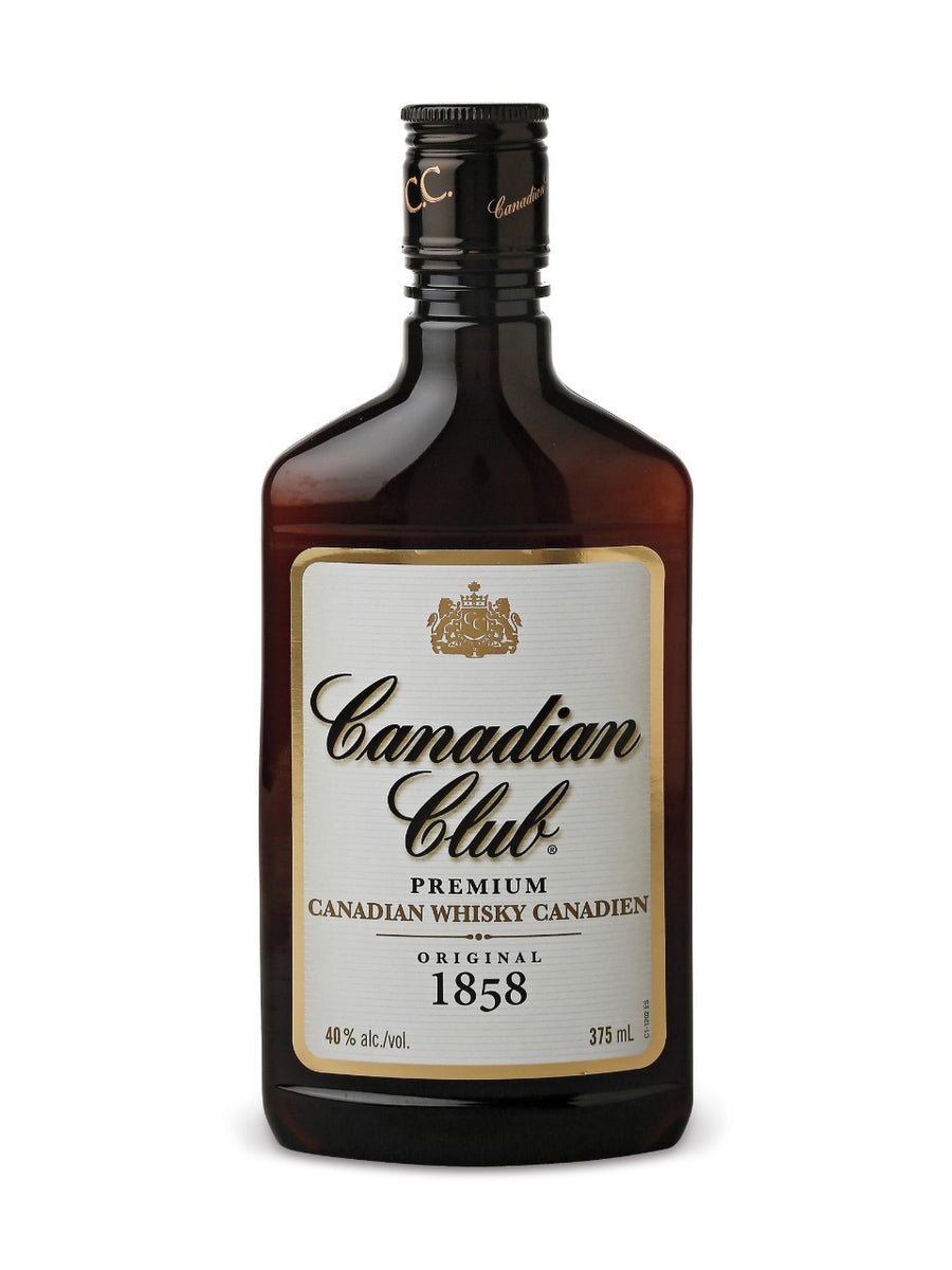 Canadian Club Whisky 375 mL bottle