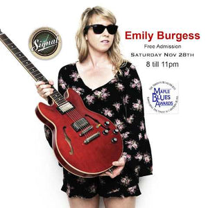 Emily Burgess in Concert - 2019 Maple Blues Award Winner