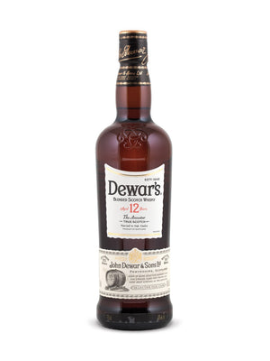 Dewar's 12 Year Old Scotch Whisky - 750 mL