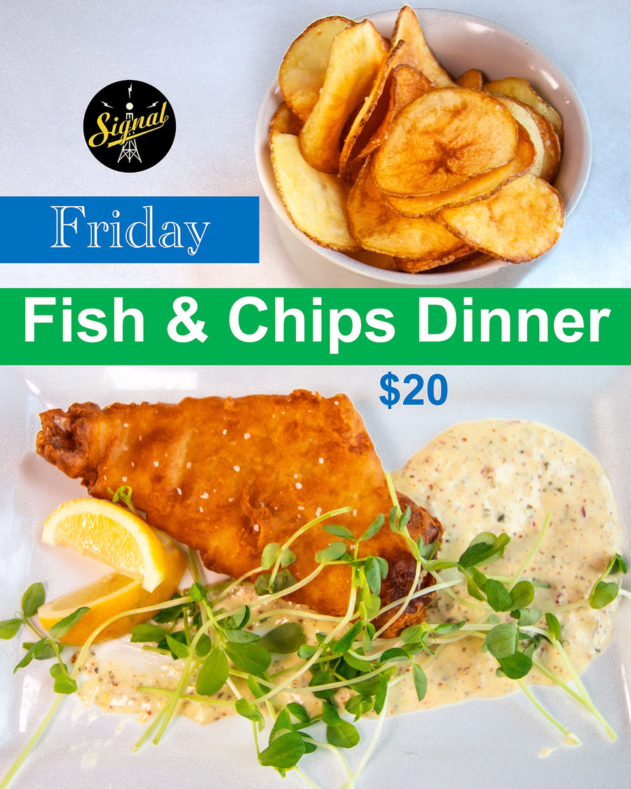 Friday Fish & Chips Dinner Special