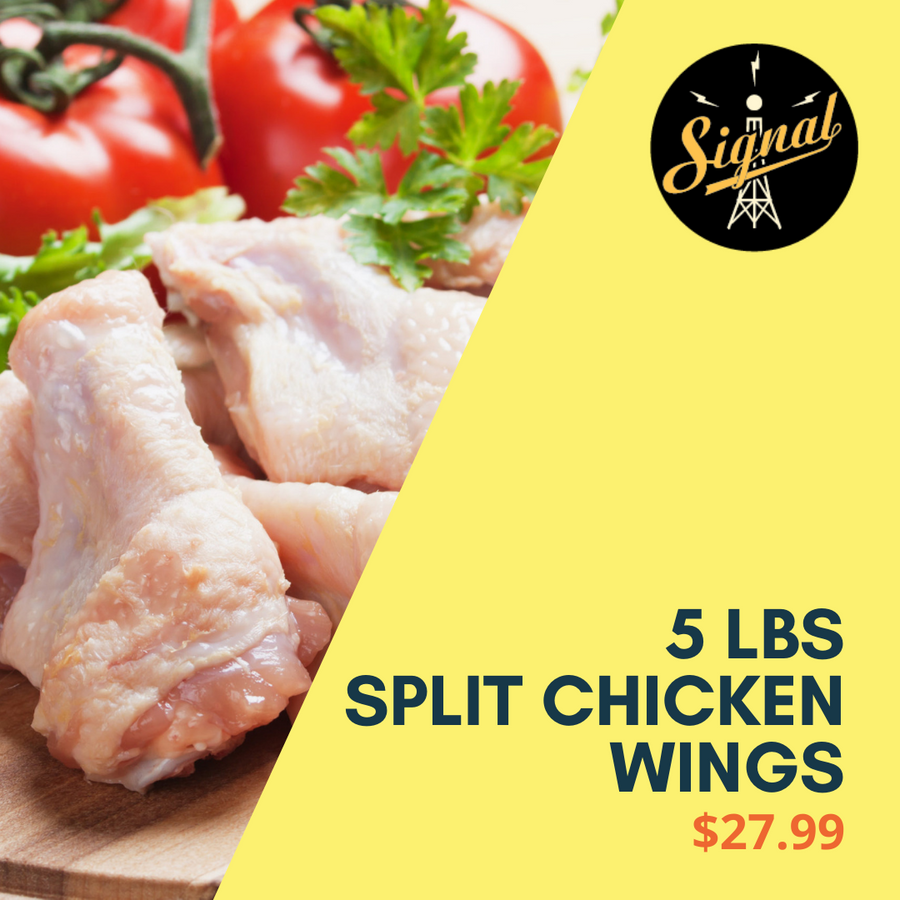 Split Chicken Wings 5 Lbs