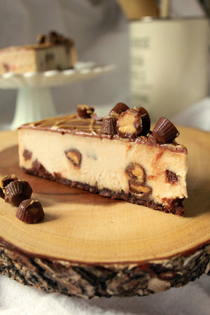 WOW Chocolate Peanut Butter Cheesecake, Gluten Free - 4 Slices