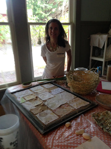 Nancy Martini Eco Artist in Residency Studio at The Deering Estate