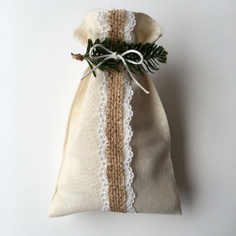 Natural Gift wrap from the green hand company