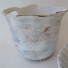 Porcelain carafe or pitcher created by eco artist Nancy Martini