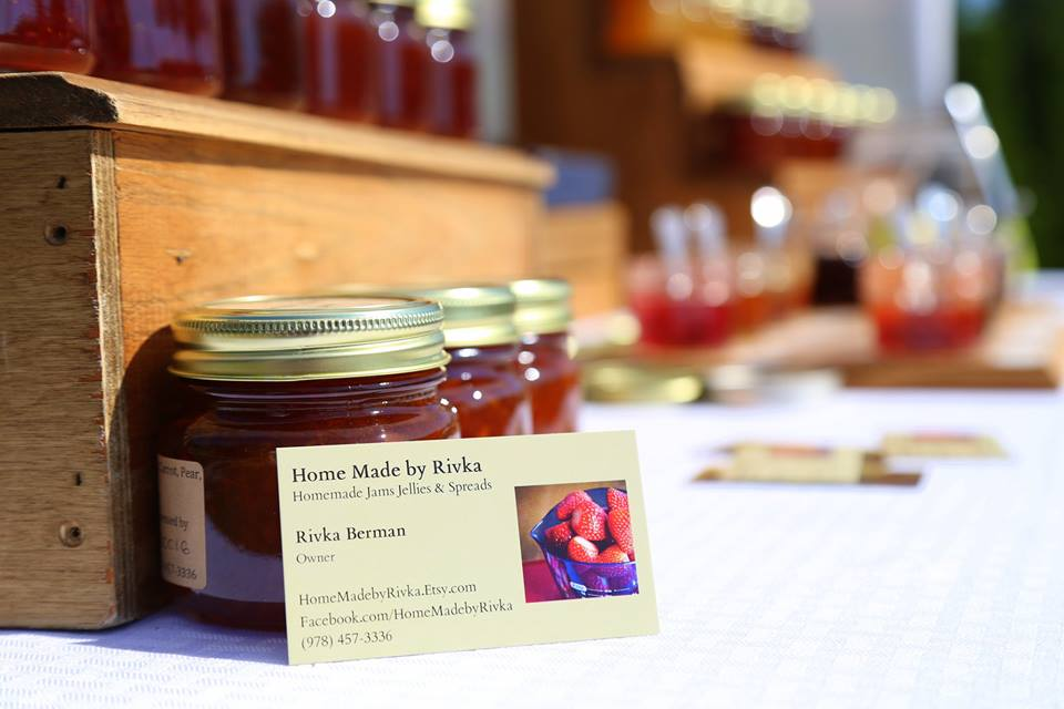 Home Made By Rivka:  Purveyor of Homemade Jams, Jellies and Spreads