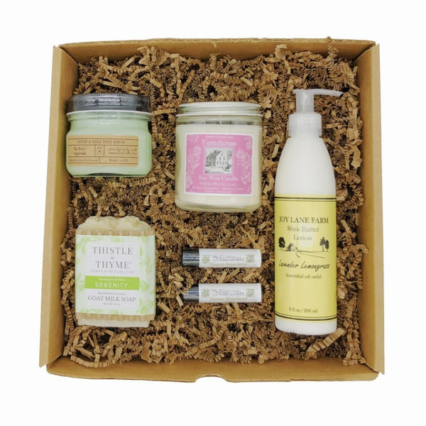 Enjoy Local Made in NH Bath Body NH Gift Box
