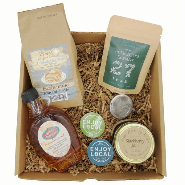 Enjoy Local Made in NH Breakfast NH Gift Box