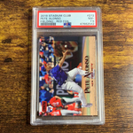 2019 STADIUM CLUB PETE ALONSO RED FOIL PSA 7.5