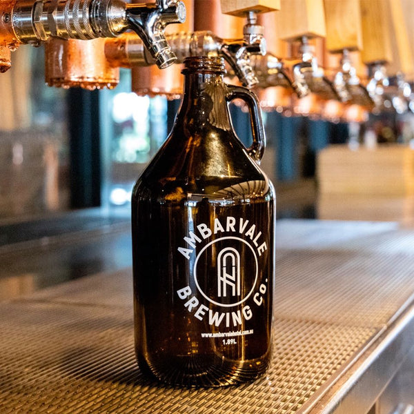 AMBARVALE BREWING CO. GROWLER