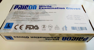 Pairon Nitrile Gloves - Medium 100PCs