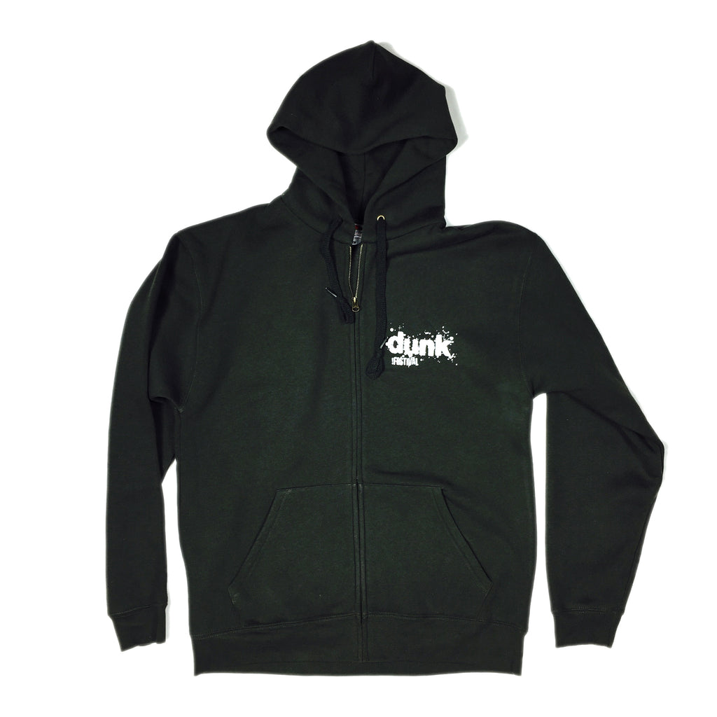 dunk!festival • Hooded Sweat Jacket (Dark Green)