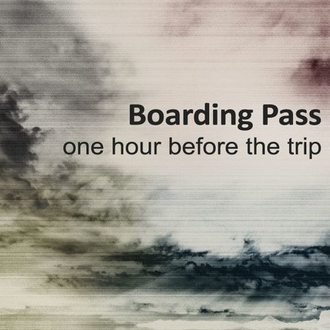 One Hour Before The Trip • Boarding Pass [CD]