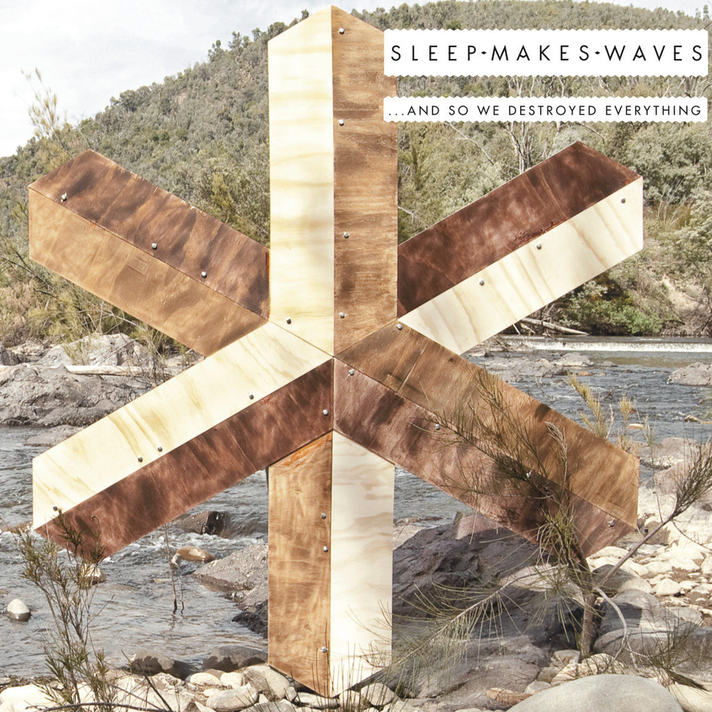 Sleepmakeswaves • …and so we destroyed everything [CD]