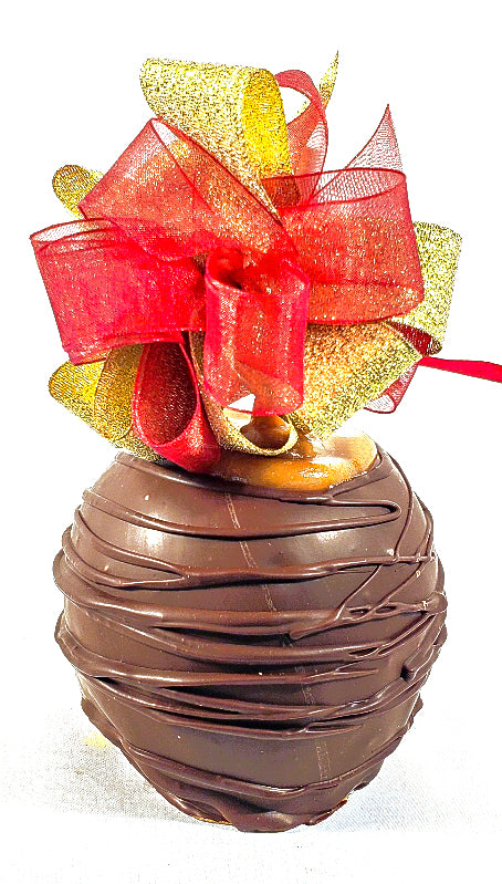 Dark Chocolate Caramel Apple