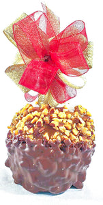 Milk Chocolate Almond Caramel Apple