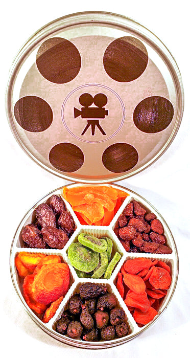 Dried Fruit Film Tin