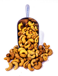 Roasted, No Salt Jumbo Whole Cashews