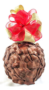 Rocky Road Caramel Apple
