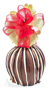Triple Stripe Caramel Apple