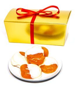 White Chocolate Glace Apricots