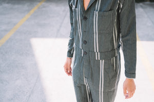 Jumpsuit Eagle stripe iron