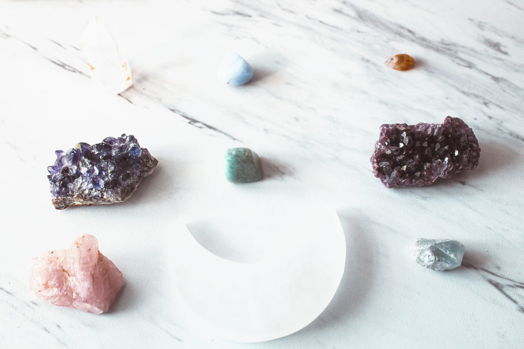 Cleansing and charging your crystals