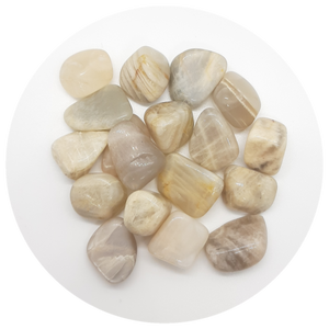 Open image in slideshow, Peach Moonstone Tumbled
