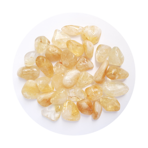 Open image in slideshow, Citrine Tumbled