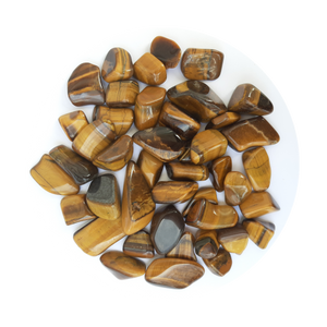 Open image in slideshow, Tiger Eye Tumbled