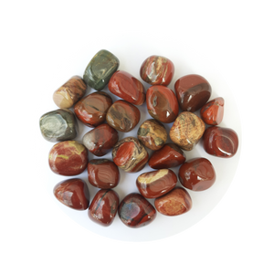 Open image in slideshow, Rainbow Jasper Tumbled