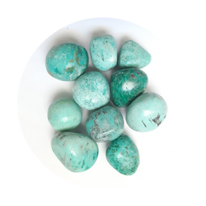 Open image in slideshow, Peruvian Turquoise Tumbled