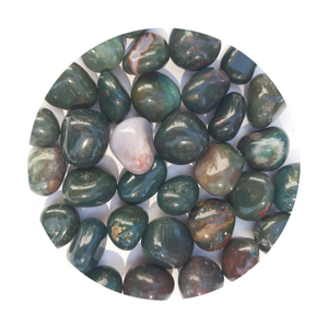 Open image in slideshow, Bloodstone Tumbled
