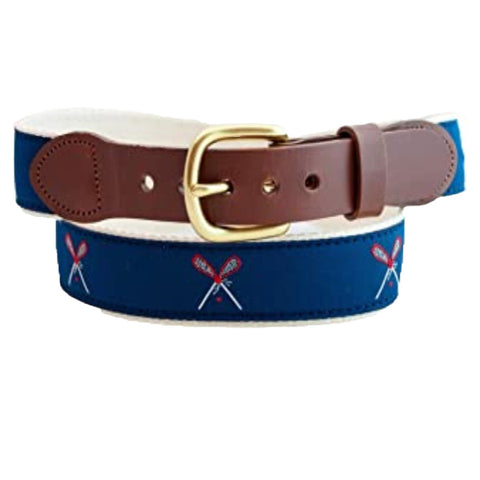 Leather Man Lacrosse Belt