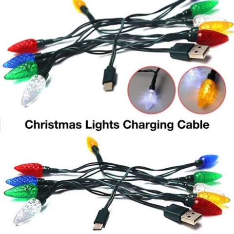 Holiday Light USB Charger for Iphones