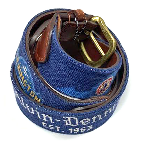 Alvin-Dennis Needlepoint Belt