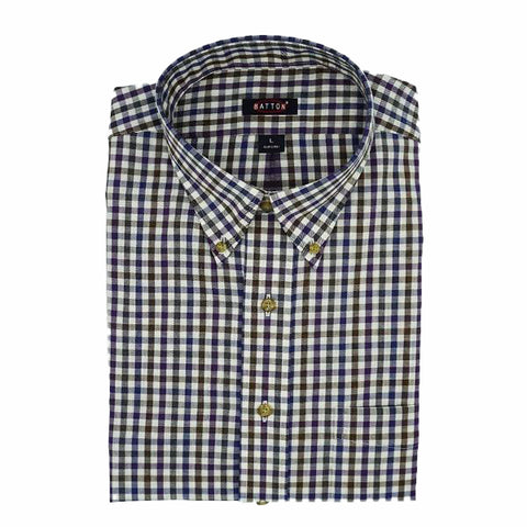 Batton Long Sleeve Bryan Twill Shirt
