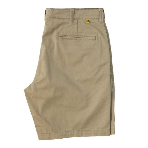 Khaki Duck Head Shorts 9""