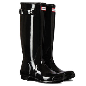 Hunter Boots Original Tall Gloss Black
