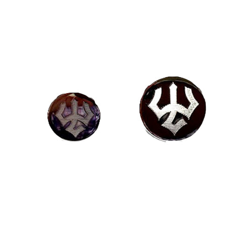W&L Polished Satin Blazer Buttons