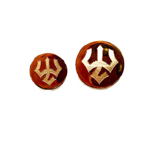 W&L Gold Plated Blazer Buttons