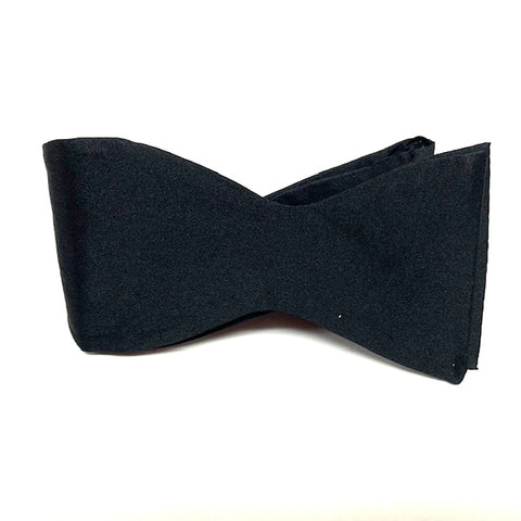 Black Self Tie Bow tie
