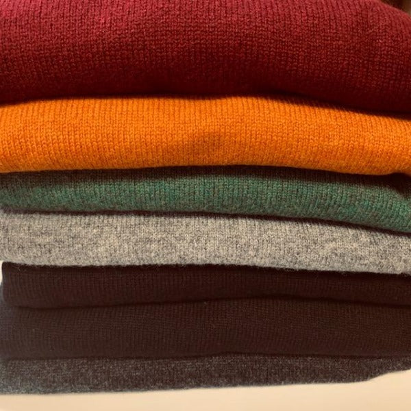 Alan Paine Hampshire V Neck Sweaters